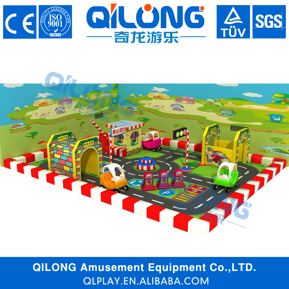 Kids mini traffic town/Driving School---Kids Indoor Playground