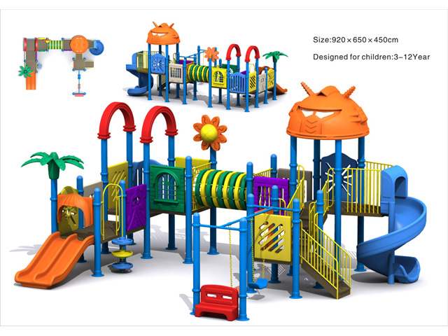 Assessed Supplier Outdoor Kids Playground
