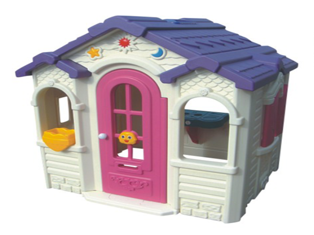 Kids full plastic house
