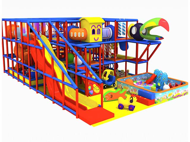 Attractive kids ropes course adventure soft playground structure china supplier amazing attractive