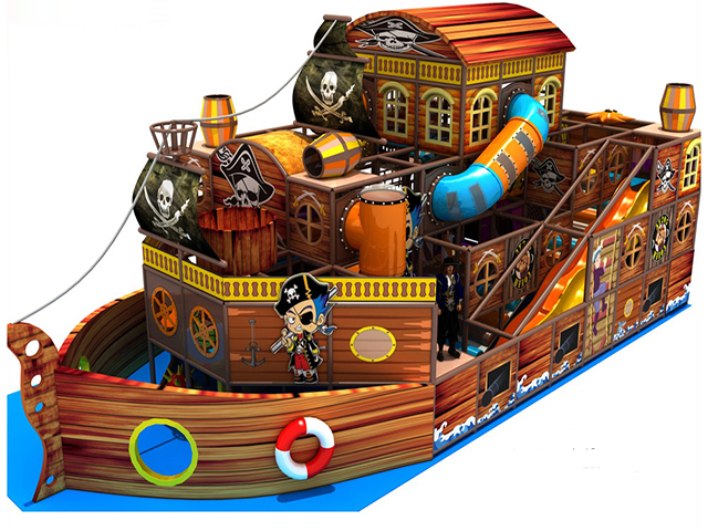 Pirate indoor play centre