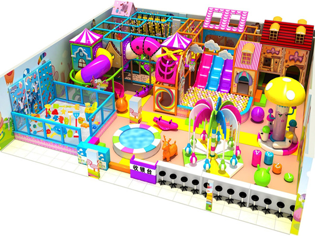 candy indoor playground equipment
