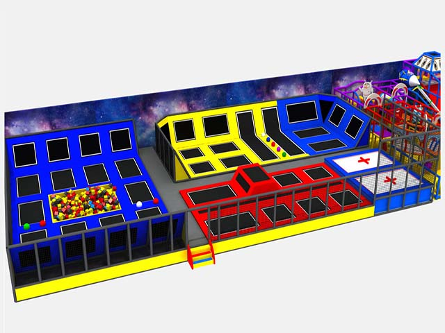 Customized Sized Hot Selling Commercial Indoor Trampoline Park