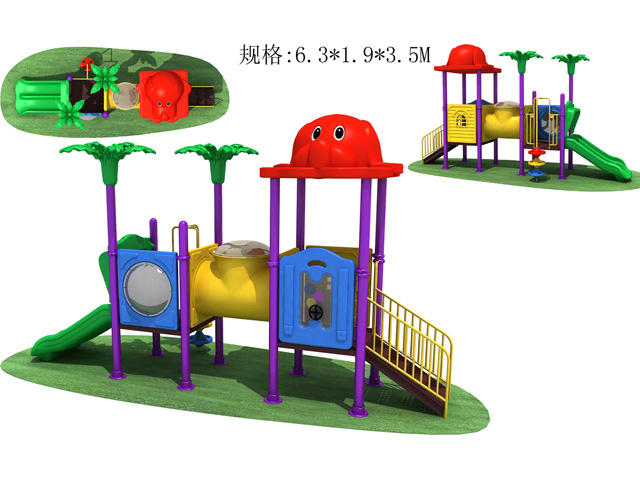 Residential outdoor playgrounds