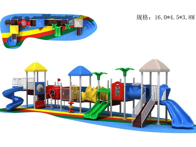 Outdoor playground child