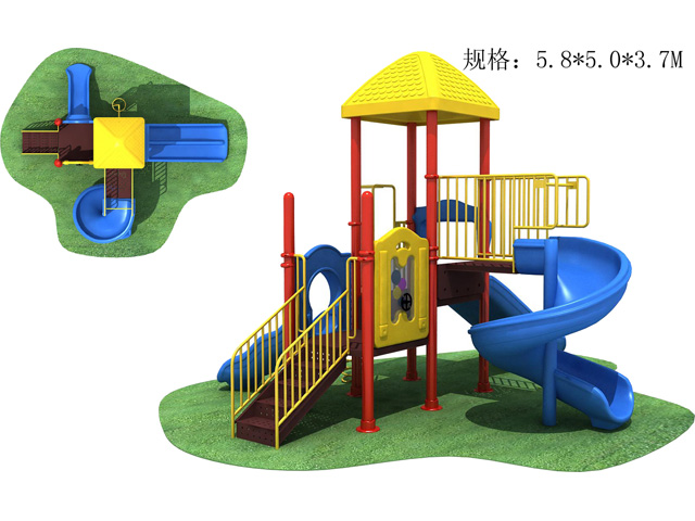China outdoor playground