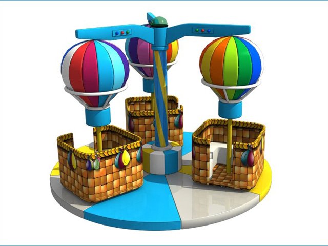indoor electric soft playground