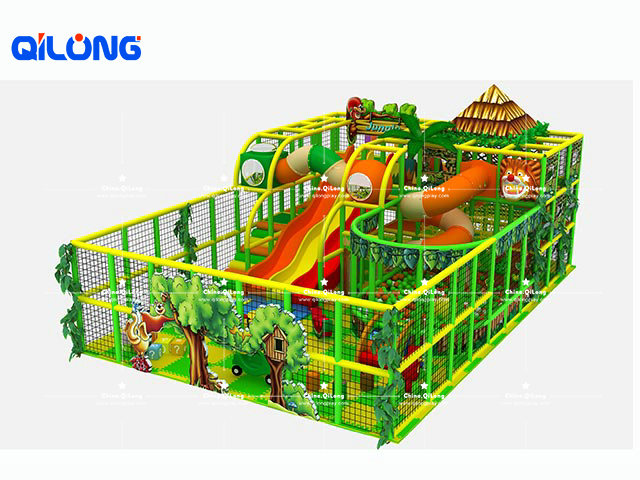 Jungle Theme Playground Kids Playground Indoor