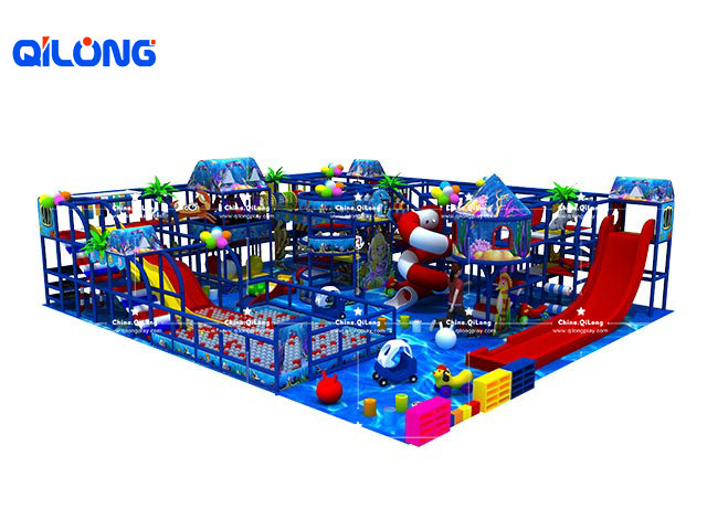 QL-TQB065 playground inflatable indoor