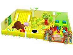 Commercial indoor playgrounds