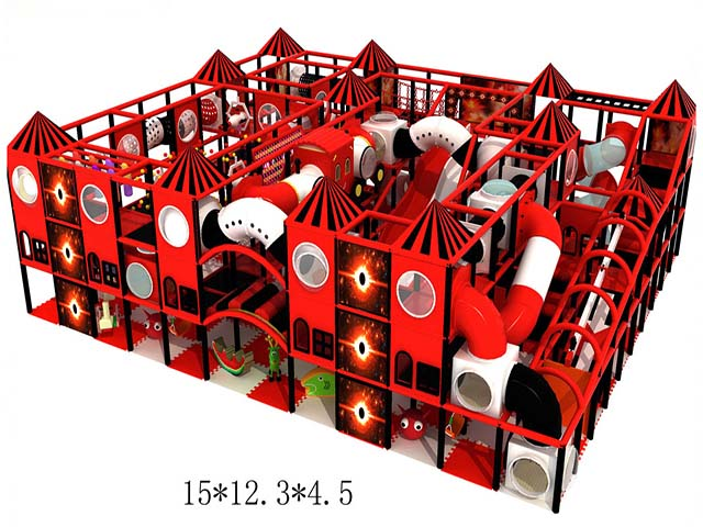 Hot sale indoor playground diy playground 2018 new baby ball pool large commercial indoor playground for kids dubai