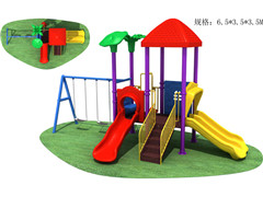 outdoor children slide