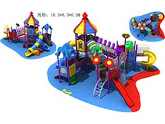 Kids play equipment slide