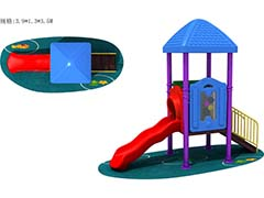 CE approved outdoor slide