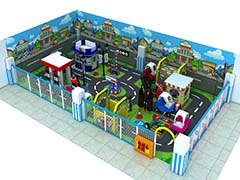 traffic town theme playground