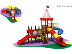 certificated outdoor slide