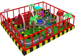 customized kids mini traffic town
