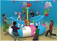 Electric soft play equipment
