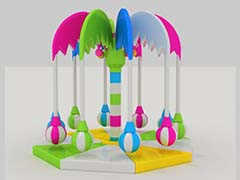 indoor electric soft play Coconut tree