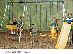 kiddie ride swing machine