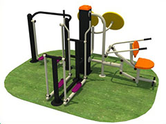 outdoor fitness equipment for children