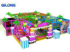 indoor playground candy theme