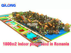 QL-7227A indoor playground Romania