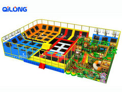 Buy chinese cheap price big colorful indoor trampoline park for sale