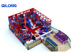 QL-7200A big kids playground equipment