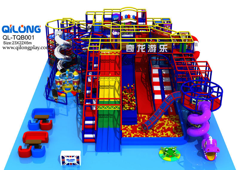 QL-TQB001 indoor playground England