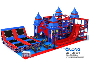 QL-TQB004 castle playground