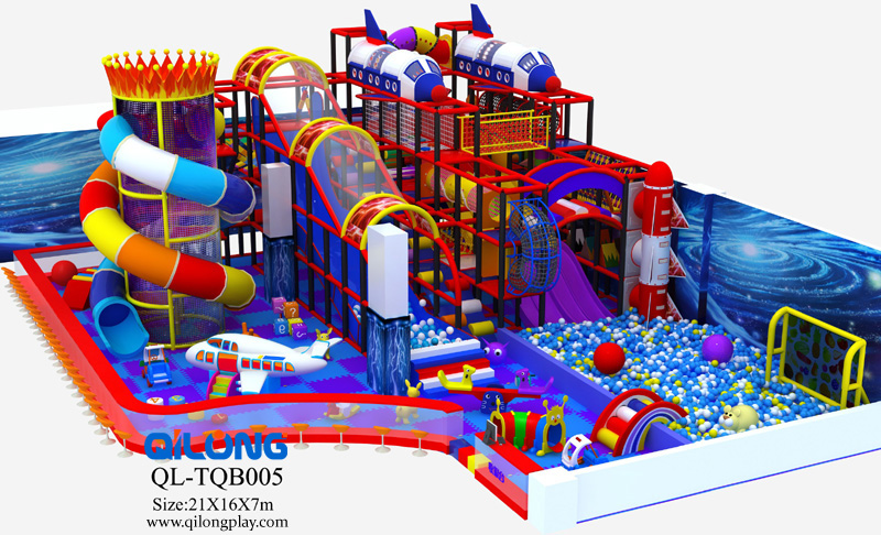 Kid Indoor Naughty Castle Playground Equipment Prices With Slide