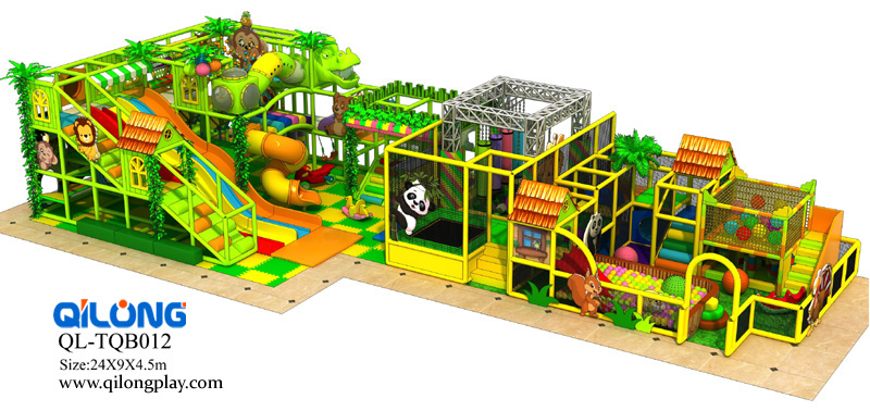 QL-TQB012 indoor playground jungle