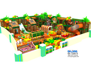 QL-TQB015 kids jungle theme playground for sale