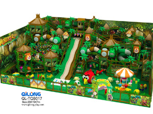 QL-TQB017 jungle theme playground for kids