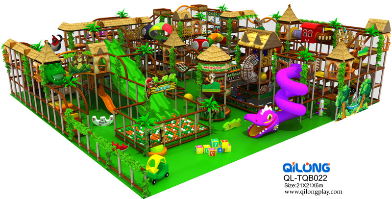 China Manufacturer Soft big Indoor Children Playground Equipment