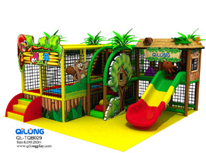 Slide indoor playground