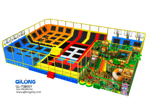 QL-TQB031 indoor adventure playground