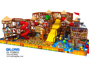 QL-TQB033 pirate ship playground equipment