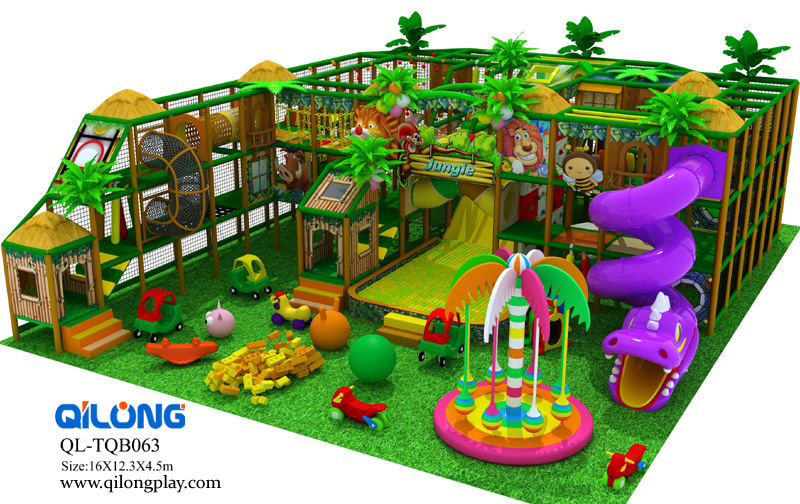 Indoor Playground Equipment And Trampoline Of Adults And Children