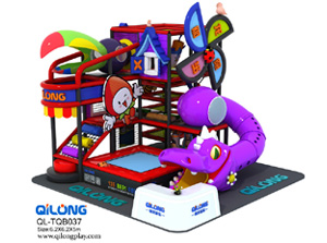 QL-TQB037 portable playground equipment