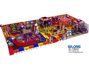 QL-TQB040 space indoor playground