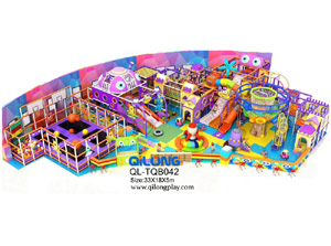 Factory price large playground adventure game playground equipment