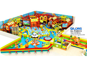 QL-TQB043 playground equipment kids indoor