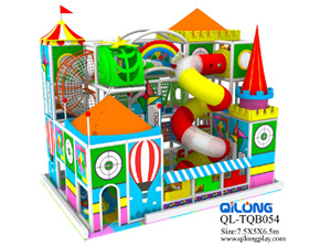 China supplier playground used plastic ball poll padded indoor playgroud