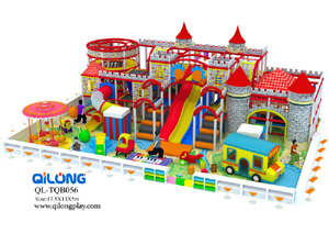 Safety colorful wonderful indoor plastic slide kids indoor exercise playground equipment indoor