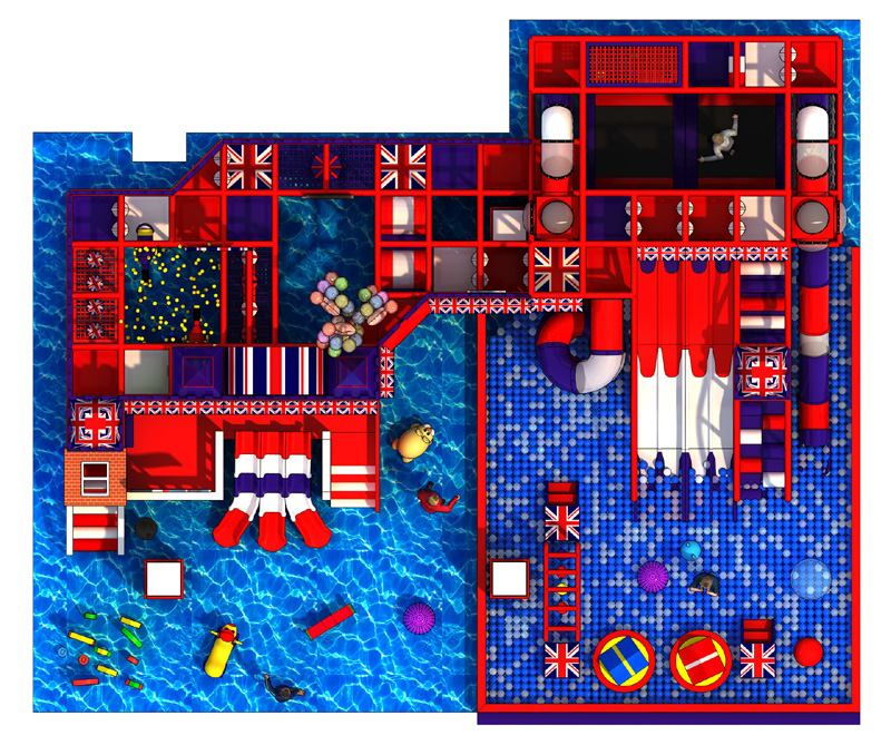 Commercial all plastic outdoor playground structure pvc indoor play ground