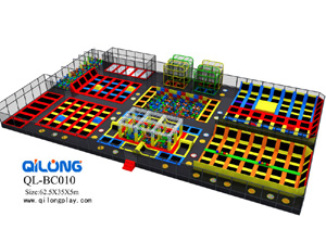 small commercial indoor trampoline park