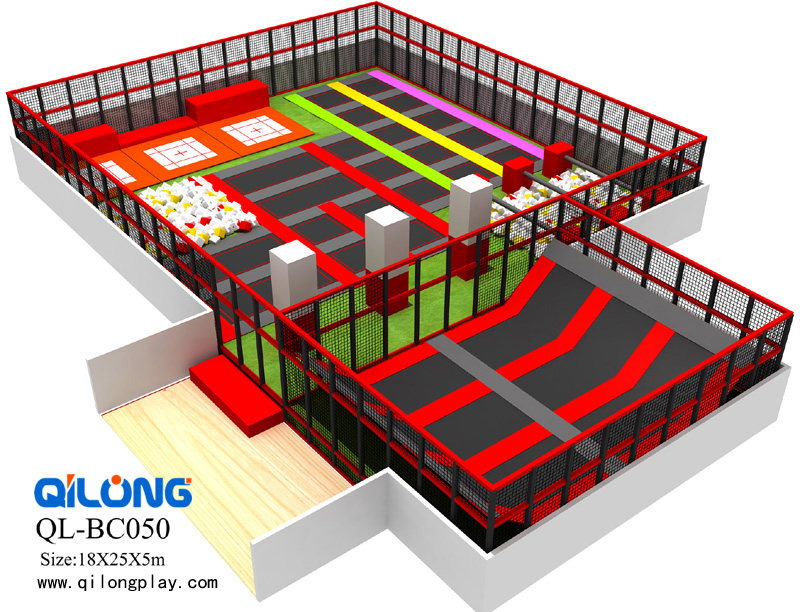 Attractive Kids Trampoline Park for Sale