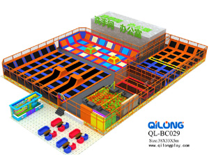 China Professional Manufacturer indoor Trampoline Park for Sale